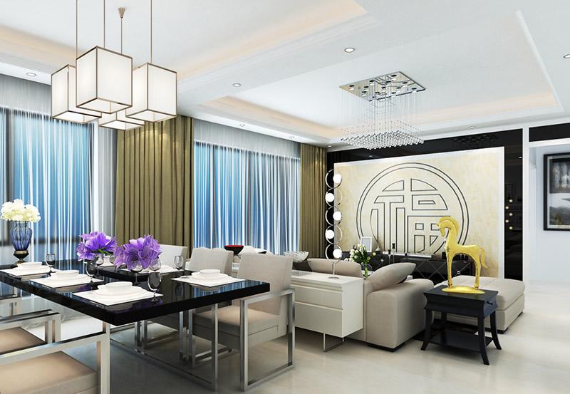 客厅餐厅一体装修效果图 强大你的客厅功能