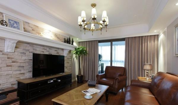 家中一堵复古砖墙 增添一抹室内风景
