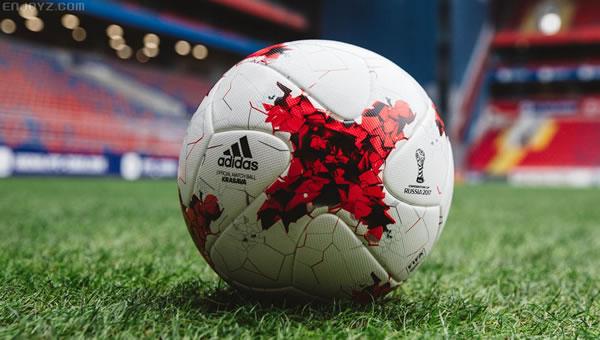 阿迪达斯推出2017年俄罗斯联合会杯官方比赛用球
