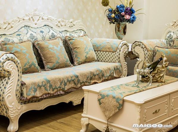 沙发垫怎么挑选 欧式沙发垫图片欣赏