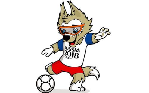 2018年俄罗斯世界杯足球赛吉祥物