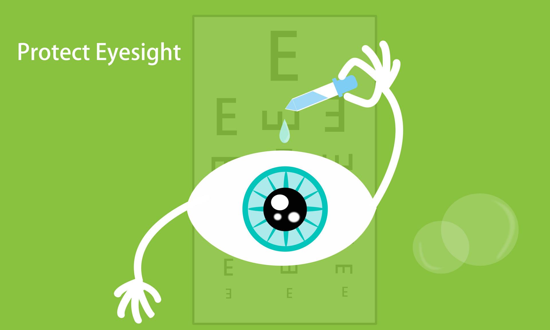 抽象保护视力
